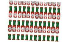 Tabasco Original Pepper Sauce Mini Bottles 1/8 Ounce Pack of 48 Little Real Glas