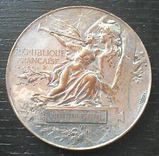 penning médaille bronze argenté exposition universelle Paris 1889 par L.Bottée