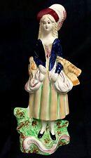Sampson Smith Olde Staffordshire figura de reverso plano Nº 5 país Maid