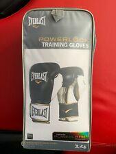 Everlast Powerlock Training Boxing Gloves 14 oz. Great Condition w/ wrap