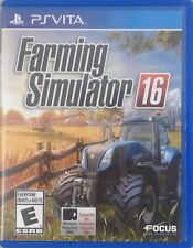 Farming Simulator 16 (Sony PlayStation Vita, 2015) (2331-SM69)