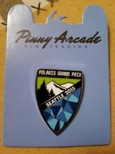 Pinny Arcade PAX Prime 2015 Seattle Polaris Grand Prix Pin Mixer TV Shield