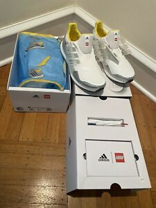 New! ADIDAS Sz 10.5 ULTRABOOST DNA X LEGO® PLATES SHOES Sold Out In Hand. FY7690