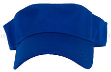 Sports Tennis Golf Sun Visor Hat Hats Adjustable Plain Bright Color Men Women
