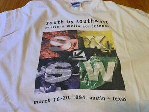 Vintage 1994 SXSW South by Southwest official t-shirt Large Austin Texas Music