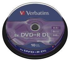 Verbatim DVD + R 8.5 GB Spindle 10 PZ