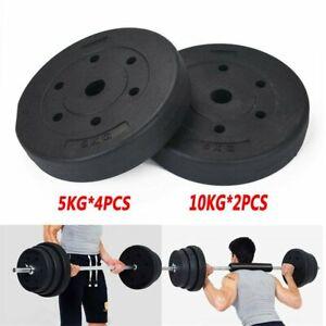 Hantelscheiben Set 20 kg Standard Gewichtsscheiben 28mm Hantel Gewichte Scheiben