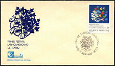 Argentine 1984 American Theatre Festival FDC First Day Cover #C43427