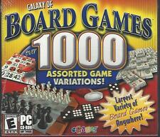 GALAXY OF BOARD GAMES 1000 eGames PC GAME XP VISTA NEW
