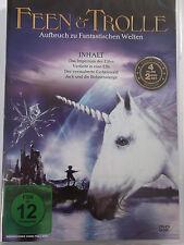 4 Filme Feen & Trolle - Imperium der Elfen, verzauberte Eichenwald, Bohnenstange