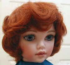 ROBBIE Carrot Red DOLL WIG size 9-10 wavy short hair for all types of dolls NEW