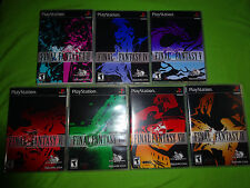 Empty Replacement Cases! Final Fantasy Complete Collection VII PS1 PS2 PS3