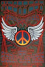 WestFest Woodstock 40th Anniversary Golden Gate Park SF Rock Poster Peace 2009