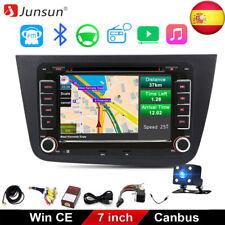 """7""""Autoradio de Coche Navi GPS DVD Bluetooth Radio Für Seat Altea Altea 2004-2015"""