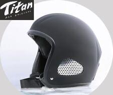 Escorpión Biker casco jethelm Titan cuero Limited culto Harley Chopper talla L 55/57