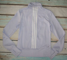 Adidas Clima Cool Brand New Ladies Lilac Zip Fastened Jacket Track Top Size 10