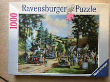 Ravensburger 1000 Piece Jigsaw Puzzle, Halt For Tea, RARE, Complete