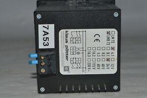 klaus pötter LMB 72 / 4.1 / 24V // Optische Meldung Bauform 72mm x 72mm  (AB940)