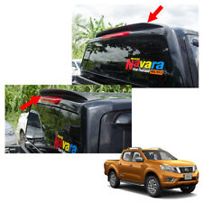Rear Roof Spoiler Trim Matte Black Fits Nissan NP300 Navara Pickup 2014 15 16 17