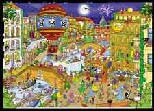 GOLIATH JIGSAW PUZZLE THAT'S LIFE: VENICE 1000 PCS CARTOON #71335
