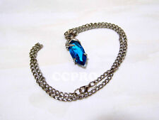 Final Fantasy X/X-2 Yuna's pendant Blue magic crystal necklace for Final Fantasy