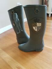 Juicy Couture Rain Boots in Excellent Condition Size 7