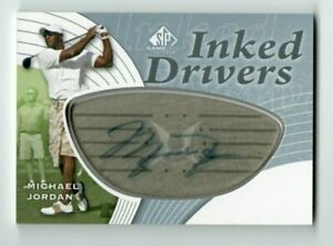 MICHAEL JORDAN 2012 UD SP Game Used Inked Drivers AUTO **SEE DESCRIPTION**