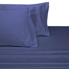 "Crispy Soft Percale 100% Egyptian Cotton 22"" Super Deep Pockets Sheet Collection"