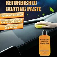 New Automotive Interior Auto & Leather Renovated Coating Maintenance Paste S9N7