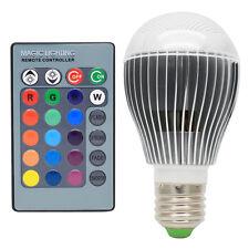 2er 5W Dimmbare E27 LED RGB Farbwechsel Lampen,16 Farbwechsel mit IR Fernbedienu