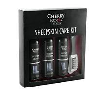 Cherry Blossom Premium Sheepskin Care Kit