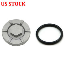 Oil Drain Plug Cover For Yamaha Warrior 350 Raptor Wolverine Big Bear 350 400