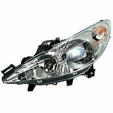 VALEO 043240 Headlamp Left for PEUGEOT 207 207 CC 207 SW Passenger Near Side N/S