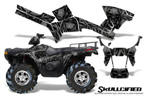 POLARIS SPORTSMAN 500 600 700 800 05-10 GRAPHICS KIT CREATORX SKULLCIFIED B