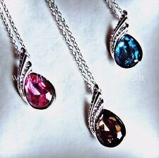 Markenlose Modeschmuck-Halsketten & -Anhänger mit Türkis und Tropfen für Damen