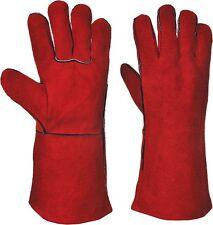 Portwest A500 Welders Gauntlet Glove Red - 10.5 / XL
