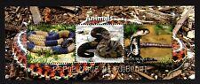 DJIBOUTI REPUBLIC- 2011 .ANIMALS.FAUNA. snakes .BLOCK MNH**.
