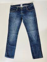 sass & bide Ladies Blue Straight Leg Denim Jean Size 28