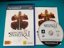 PS2 : sword of the samurai