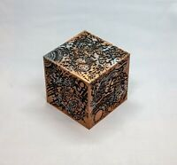 Inspired by Transformers Allspark Cube hand painted with stand