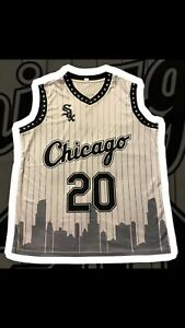 2021 Chicago White Sox SGA Basketball Skyline Jersey 6/26/21 Size XL