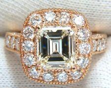 Bagues avec diamant or rose