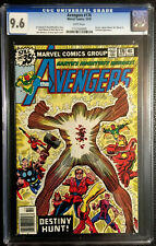 AVENGERS #176 CGC 9.6 KORVAC STARHAWK CAPTAIN MARVEL MS MARVEL 1978 WHITE PAGES