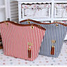 Canvas Bag Beach Bag Large Capacity Shoulder Fringe Stripe Women Handbags