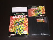Teenage Mutant Ninja Turtles II 2 TMNT Nintendo Nes Collector Complete CIB NM