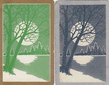 GENUINE SWAP PLAYING CARD - 2 SINGLE -  SCENES - #24