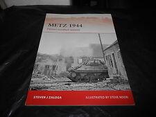 OSPREY CAMPAIGN  242, METZ 1944 by STEVEN J. ZALOGA