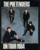 THE PRETENDERS-CHRISSIE HYNDE 1984 LEARNING TO CRAWL TOUR CONCERT PROGRAM BOOK