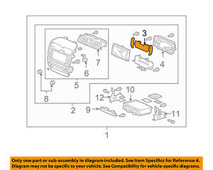 Acura HONDA OEM 2004 TSX Instrument Panel Dash-Rear Plate 39059SECA61