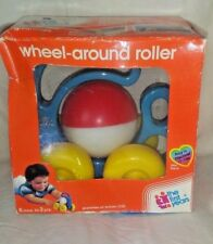 Vintage 1988 Avon The First Years Wheel Around Roller with Box Baby Learning Toy